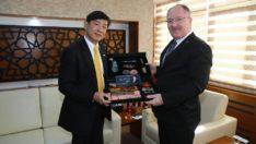 Sivasspor'un başarısına Japon büyükelçi de kayıtsız kalmadı