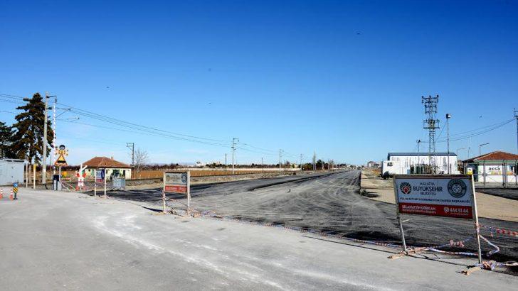 Sivas bağlantı yolunun 2.5 kikometrelik bölümü tamamlandı