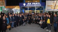 Milletvekili Ağar,Türkiye'nin dört bir yanında hız kesmeden teşkilat çalışmalarını sürdürüyor