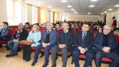 Başkan Güder,deneyimlerini gençlerle paylaştı