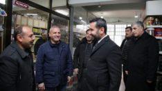 Başkan Şerifoğulları sanayi mahallesi esnafını ziyaret etti