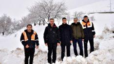 Malatya Valisi Baruş, Hekimhan-Pütürge Karayolları Bakımevlerini Ziyaret Etti