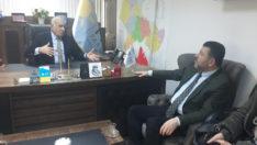 Ağbaba İyi Parti Malatya İl Başkanlığını ziyaret etti