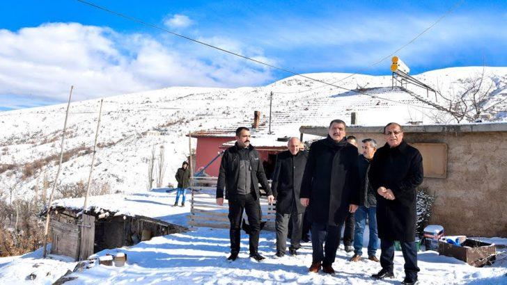 Başkan Gürkan: Çalışmalarımız 7/24 Aralıksız devam ediyor