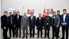 MTTB Genel Başkanı Karayel'den Geçmiş Olsun Ziyareti