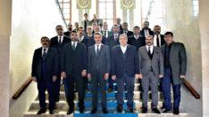 MHP İl Yönetiminden Vali Baruş'u Ziyaret