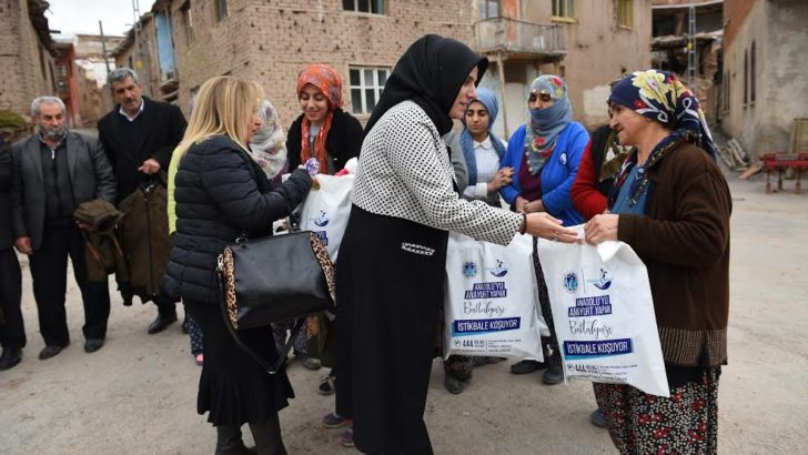 Battalgazi kalbi kadın kooperatifi'nden depremzedelere destek