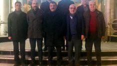İş adamlarından Başkan Gürkan'a geçmiş olsun ziyareti