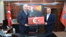 Başkan Kılınç'tan, Emniyet Müdürü Ergüder'e Nezaket Ziyareti