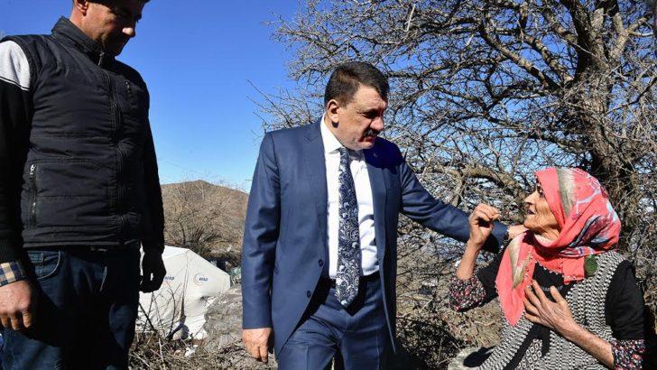Başkan Gürkan ve Vali Aydın Baruş Kale'de incelemelerde bulundu