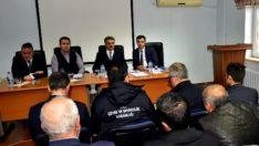 Vali Baruş Kale İlçe Muhtarlarıyla Deprem Bilgilendirme Toplantısı Düzenledi