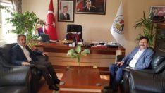 Başkan Kılınç, Sincik Belediye Başkanı Korkut'u Ziyaret Etti