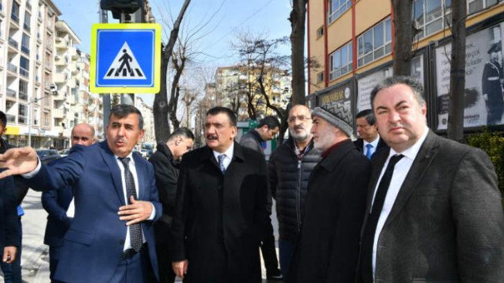 Sivas Caddesi Baştan Aşağı Yenilenecek