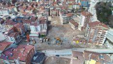 Rüstempaşa mahallesi'nde yıkım çalışmaları başladı