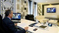 Başkan Kılınç, Koronavirüs Tedbirlerini Cumhurbaşkanı Erdoğan'a Anlattı