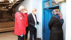Battalgazi belediyesi ve Kızılay,ihtiyaç sahiplerini unutmadı