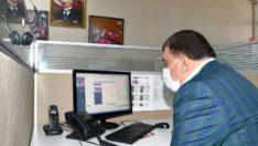 Büyükşehir Belediyesi çağrı merkezi 7/24 hizmet veriyor