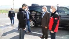 Battalgazi belediye başkanı Osman Güder'den polislere anlamlı ziyaret