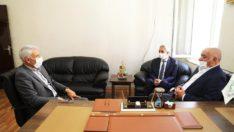 Battalgazi Belediyesi Fırıncılar Esnafına Maske Dağıttı