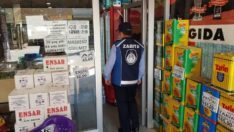 Zabıta ve Ticaret İl Müdürlüğü Ekipleri Marketleri Denetledi