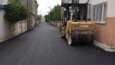 Bahçecik Mahallesi'ndeki Sokakların Asfaltı Yenileniyor