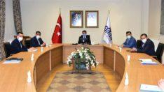 """Vali Baruş """"Köy Konut Projeleri"""" Değerlendirme Toplantısı Düzenledi"""