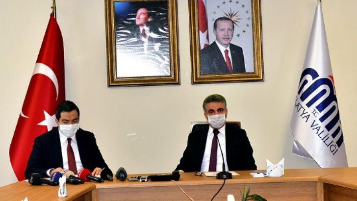 Vali Baruş, İl Sağlık Müdürü Prof. Dr. Bentli ile Birlikte Pandemi Sürecini Değerlendirdi