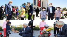 BATTALGAZİ BELEDİYESİ'NİN ÖNÜ CIVIL CIVIL