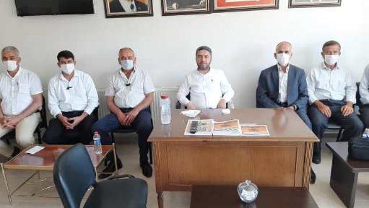 Cumhuriyet Halk Partisi (CHP)'nin Doğanşehir'deki Belediye Başkan Adayı Eyüp Ersoy oldu.