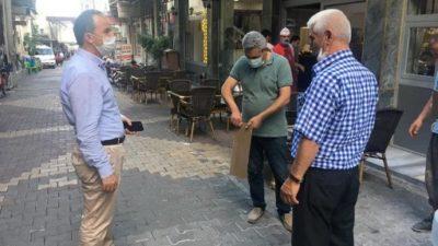 Başkan Kılınç, Harıkçı Caddesi Esnafıyla Bir Araya Geldi