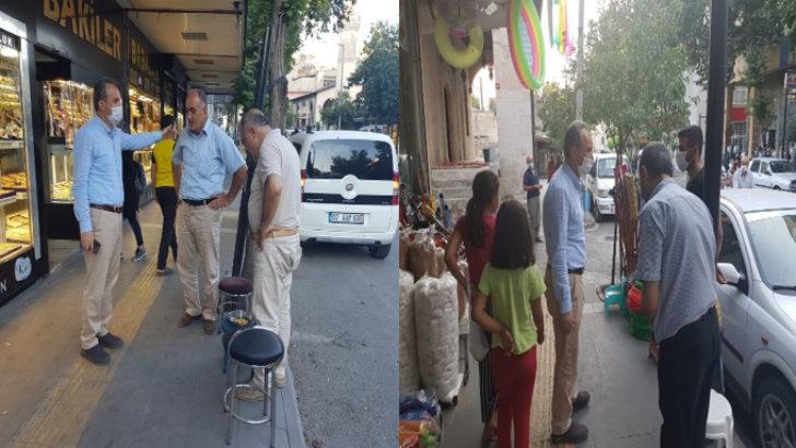 Başkan Kılınç, 9 Eylül Caddesi'nde Vatandaşlarla Bir Araya Geldi