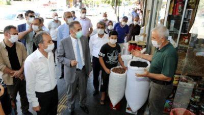 Belediye Başkanı Kılınç Koronavirüs Denetiminde