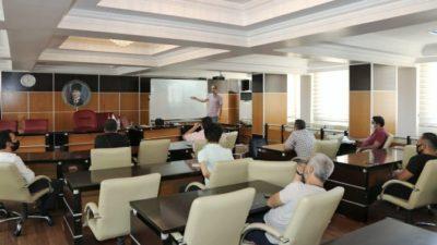 Adıyaman Belediyesi'nde Teknik Personele Yönelik Eğitimler Sürüyor