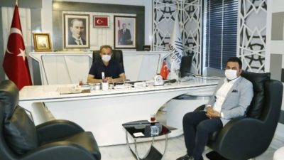 Gölbaşı Belediye Başkanı Yıldırım'dan, Başkan Kılınç'a Ziyaret