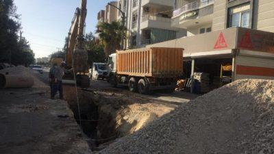 Mimar Sinan Mahallesi'nin Altyapı Hattı Güçlendiriliyor