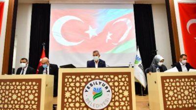 YEŞİLYURT BELEDİYE MECLİSİ, EKİM AYI TOPLANTILARINA BAŞLADI