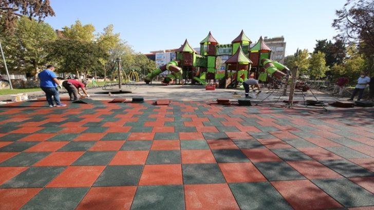 Mimar Sinan Parkı'nda Yenilikler Devam Ediyor