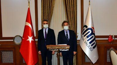 Kültür ve Turizm Bakan Yardımcısı Demircan, Vali Baruş'u Ziyaret Etti