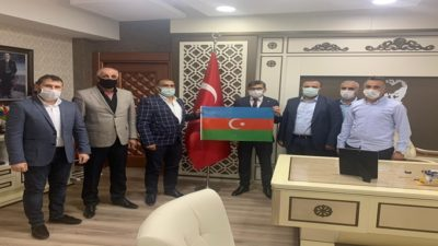 MHP Battalgazi İlçe Başkanı İlhan ilhan'dan Malatya İl Emniyet Müdürlüğüne ziyaret;