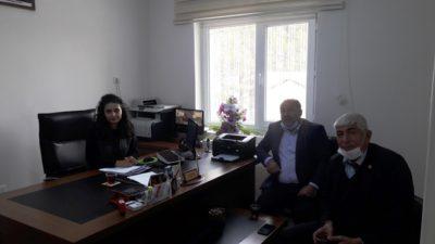 Başkanvekili Hüseyin Akşahin'den Orman İşletme Şefi'ne Hayırlı Olsun Ziyareti