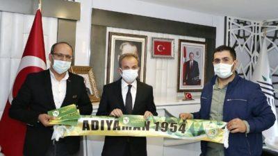 Başkan Kılınç, Adıyaman 1954 Spor Taraftarının Kampanyasına Destek Oldu