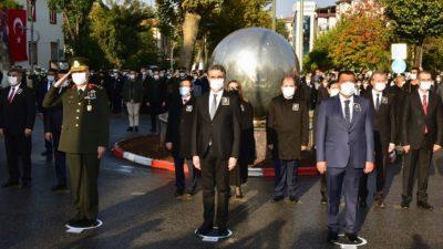 Vali Baruş, 10 Kasım Atatürk'ü Anma Günü Törenine Katıldı