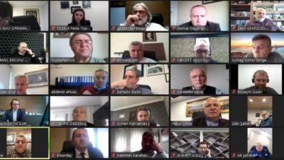 Sadıkoğlu, TOBB Orman Ürünleri Meclis toplantısına başkanlık yaptı