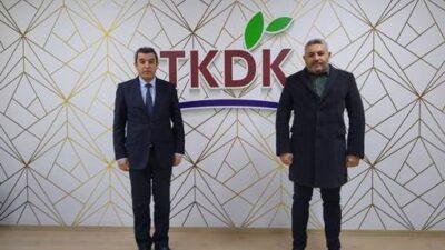 Başkan Sadıkoğlu'ndan TKDK Ziyareti