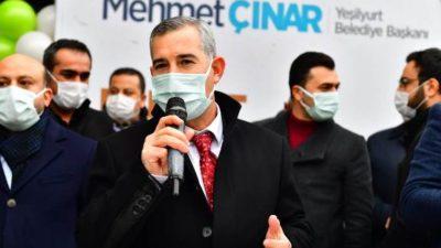 """""""Çavuşoğlu Kitap Kafemiz, Yeşilyurt'umuza Hayırlı Olsun"""""""