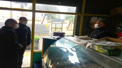Başkan Kılınç'tan, Kısıtlama Günlerinde Çalışan Esnafa Ziyaret