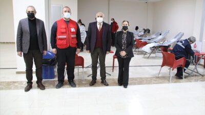 Battalgazi Belediyesinden Türk Kızılayına Kan Desteği