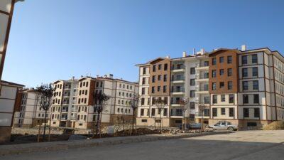 Başkan Kahveci Nisan Sonunda Hak Sahiplerine Teslim Edilecek