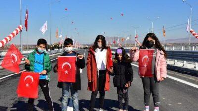 Şehit Gaffari Güneş'in İsminin Verildiği Yeni Tohma Köprüsü'nün Açılışı Gerçekleştirildi