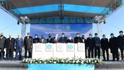 Malatya Havalimanı Yeni Terminal Binası Yapımı Temel Atma Töreni